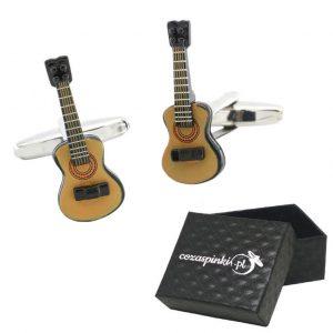Spinki do mankietów Gitary