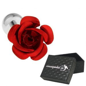 Spinki do mankietów Czerwone Róże