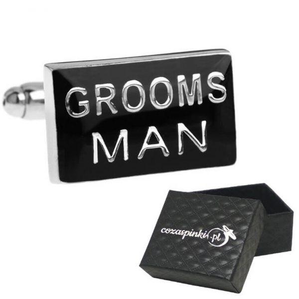 Spinki do mankietów Grooms Man