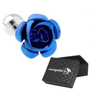 Spinki do mankietów Kwiaty niebieskie