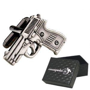 Spinki do mankietów Pistolety