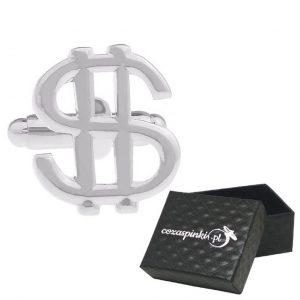 Spinki do mankietów Dolary