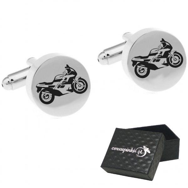 okrąłe spniki ślubne motocykle